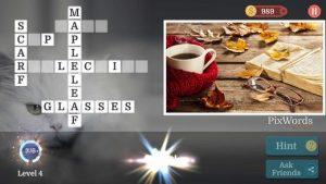 Pixword Scenes Level Answers